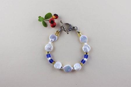 _0046_11d Blue Touch bracelet 0110515B